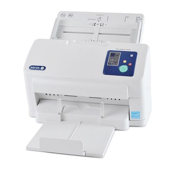 XEROX Docuscanner Documate 5460i, 75 ADF, duplex, 60 lap/perc (ff), 600 dpi, 24 bit színmélység, USB 2.0, fedélzeti képm